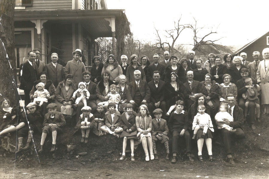 Dumont family original photo